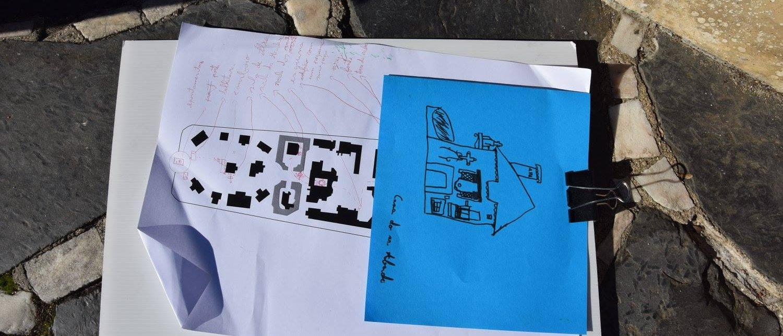 Consulte os temas das oficinas de arquitetura e artes